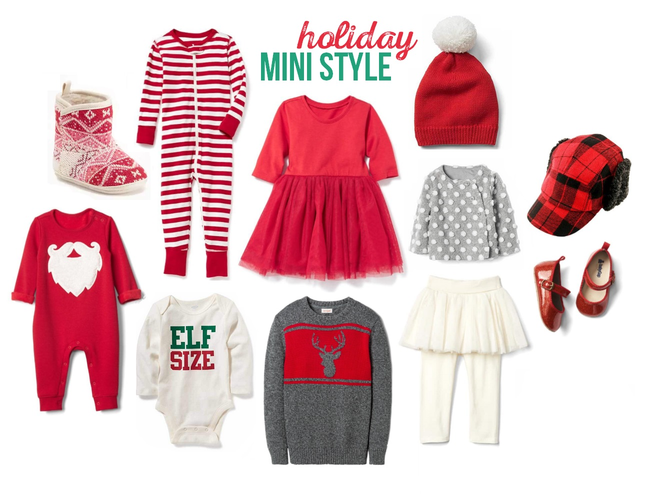 Holiday Toddler Styles